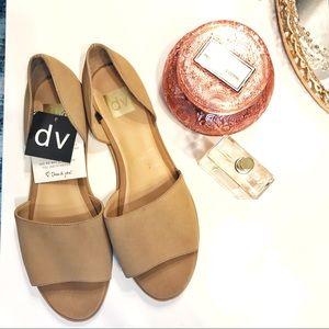Dolce Vita Peep | Toe D'Orsay Flat